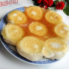 香菇油菜水煎包