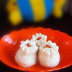女人吃出好气色—红豆馅石榴包的做法