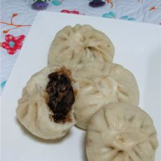 香菇梅干菜包子