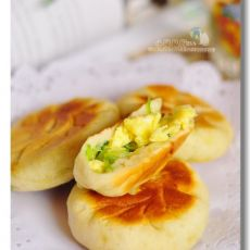 西葫芦鸡蛋煎包