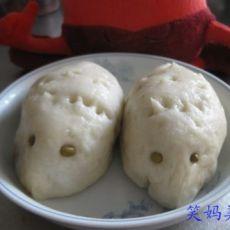 刺猬豆沙包