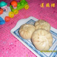 莲藕猪肉包的做法