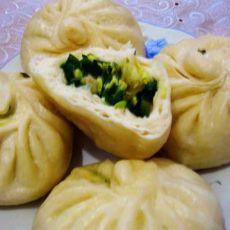 韭菜三鲜包