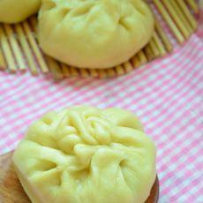 韭菜粉丝玉米面包子