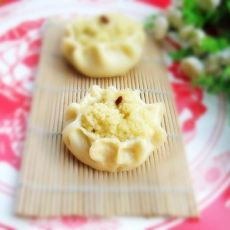 大黄米馅石榴包的做法