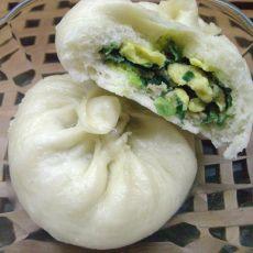猪肉韭菜三鲜包