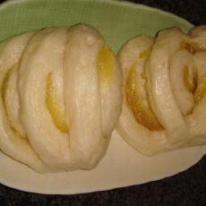 椰香奶黄卷