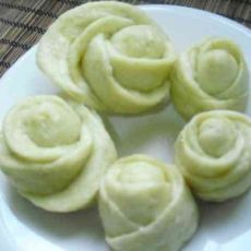 青豆玫瑰卷