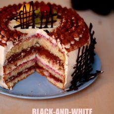 双色巧克力蛋糕