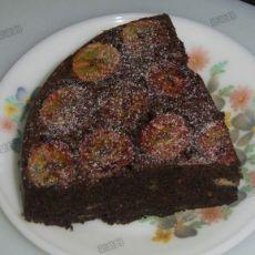 香蕉巧克力蛋糕――电饭煲做