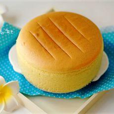 6寸黄金海绵蛋糕