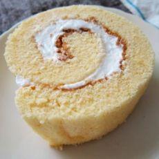 奶油蛋糕卷卷的做法