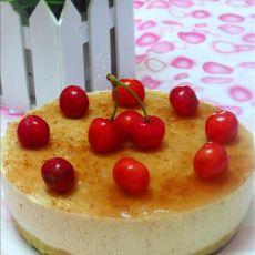 樱桃酸奶慕斯蛋糕(免烤)