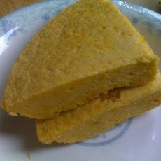 南瓜蒸蛋糕
