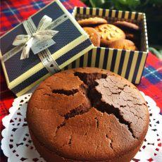 巧克力圆形海绵蛋糕