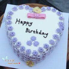 紫色系列生日蛋糕