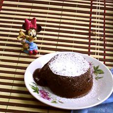 熔岩巧克力蛋糕的做法