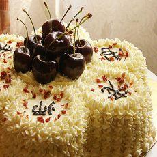 花儿榴梿慕斯蛋糕