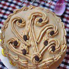 摩咖啡蛋糕―结婚8周年蛋糕