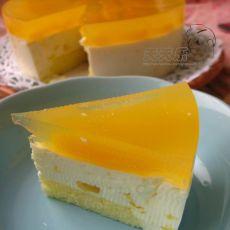 黄桃慕斯蛋糕(6寸)