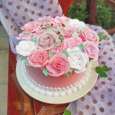 春天花花蛋糕