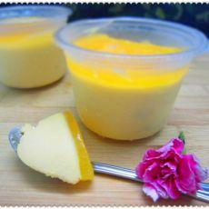 橙香芒果慕斯杯