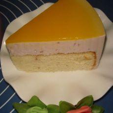 蓝莓芝士慕司蛋糕