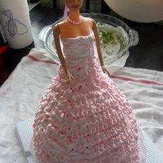 春天里的芭比娃娃蛋糕的做法
