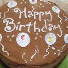 戚风蛋糕―老爸的生日蛋糕