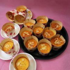 杏仁纸杯蛋糕