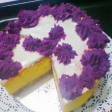 紫薯酸奶蛋糕