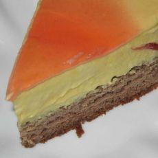 芒果芝士慕司蛋糕