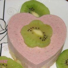 草莓酱慕斯蛋糕