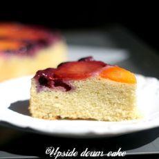 杏子蓝莓反转蛋糕的做法