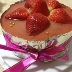 草莓巧克力慕斯