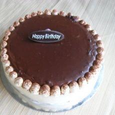 巧克力甘那许奶油蛋糕