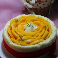 黄桃椰浆甜心幕斯