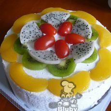 果奶油蛋糕