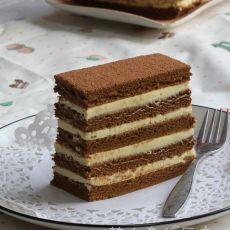 咖啡夹心多层蛋糕