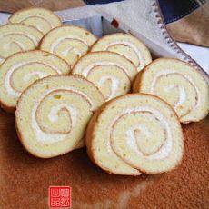 原味海绵蛋糕卷
