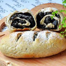 黑芝麻全麦面包――养生面包