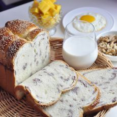 面包机版豆沙吐司