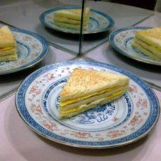 香煎鸡蛋三明治