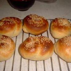 自制早餐面包