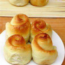 中筋蜂蜜小面包
