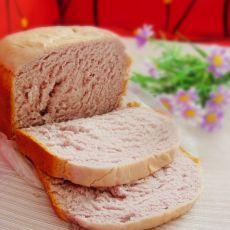 紫薯面包的做法