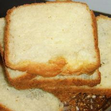 鲜奶土司——面包机面包之三
