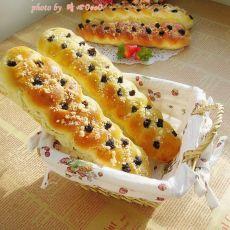 奶酥葡萄面包的做法