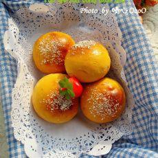 番茄肉松面包