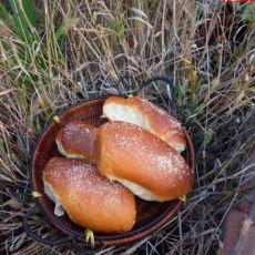 白糖面包的做法
